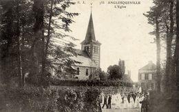 76 ANGLESQUEVILLE - L'Eglise - Très Animée, Communiantes - France