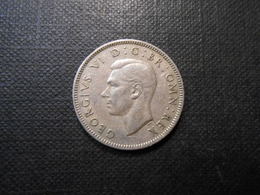 Grossbritannien  One Shilling  Georg Vl  Silber  1948  LV Ss - 1902-1971 : Post-Victorian Coins