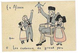 CPA HENRIETTE DELALAIN EN ALSACE LES CADEAUX - Autres Illustrateurs
