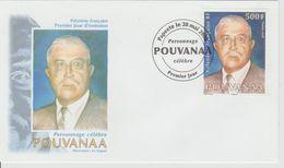 Polynésie Française 2008 Personnalité 834 - FDC