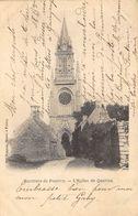 CPA 56 ENVIRONS DE PONTIVY L EGLISE DE QUELVEN 1904 - Pontivy