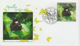 Polynésie Française 2009 Papillon 862 - FDC