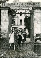 Enfants Réfugiés à TOURVILLE LA RIVIERE C.1942 Seine-Maritime 76 - Lieux