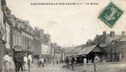 76 ANGLESQUEVILLE-SUR-SAÂNE - Le Bourg - Très Animée - France