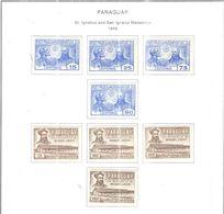 Paraguay PO+PA 1966 S.Ignazio Monastero  Scott.935/942+Nuovi See Scan On Scott.Album - Paraguay
