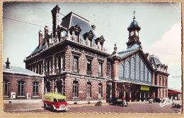 X59171 ROUBAIX Nord ESTAFETTE RENAULT FLANDRIA Citroen Traction La Gare 1950s Photo-Véritable ESTEL 1151 - Roubaix
