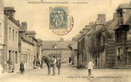 76 ANGLESQUEVILLE-SUR-SAÂNE - La Grand'Rue - Très Animée - France