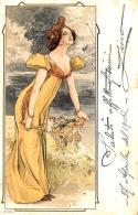 [DC11596] CPA - STUPENDA CARTOLINA ILLUSTRATA - ART NOUVEAU - DONNA - PERFETTA - N° 4088 - Viaggiata - Old Postcard - Illustratori & Fotografie