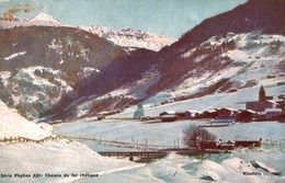 SUISSE CHEMIN DE FER RHETIQUE  SERIE PHYTINE XXI - GR Graubünden