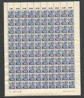 Rheinland-Pfalz,Nr.11,20.2.1948,B,10 Leerfelder Im OR,gefaltet (M6) Franz.Zone-Bogen - Französische Zone
