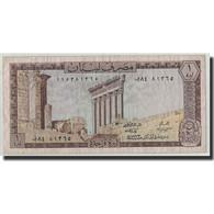 Billet, Lebanon, 1 Livre, 1973, KM:61b, TB - Liban