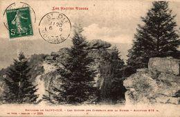 88 ENVIRONS DE SAINT-DIE LES ROCHES DES CORBEAUX SUR LA BURRE - Saint Die