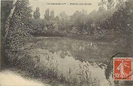 - Charente Maritime -ref-G996- Ronce Les Bains - Un Etang - Etangs - Cliche Braun - Royan - N° 115 - Carte Bon Etat - - France