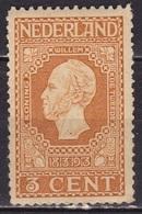 1913 Jubileumzegels 3 Cent Geel Postfris NVPH 91 A - Periode 1891-1948 (Wilhelmina)