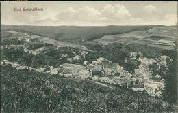 AK Bad Schwalbach, Gesamtansicht, O 1911 Bahnpost Wiesbaden-Limburg (29105) - Bad Schwalbach