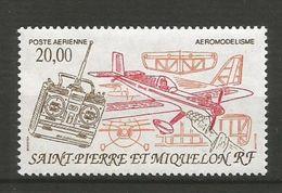 SAINT PIERRE ET MIQUELON  POSTE  AERIENNE   1992   N°   71   N** - Airmail
