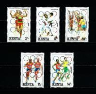 Kenia  Nº Yvert  548/52  En Nuevo - Kenya (1963-...)