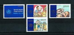 Kenia  Nº Yvert  438/41  En Nuevo - Kenya (1963-...)
