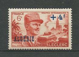 ALGERIE 1949 N° 272 ** Neuf MNH Superbe Cote 1.56 € Leclerc Guerre War Armée Militaire Military - Neufs