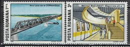 Rumänien / Romania - Mi-Nr 4539 + 4541 Postfrisch / MNH ** (E957) - Eisenbahnen
