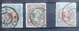 NEDERLAND   1893    Nr. 45 - 46 En 48    Gestempeld   CW  625,00 - Used Stamps
