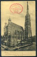 Vienna 1922 Cartolina 100% Animata, Usata, St. Stephansturm - Vienna