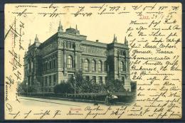 Linz 1899 Cartolina 100% Usata Con 1 Francobollo, Museo - Linz