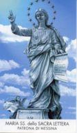 Messina - Santino MARIA SS. DELLA SACRA LETTERA (con Testo Della Lettera Ai Messinesi) - PERFETTO N92 - Religione & Esoterismo