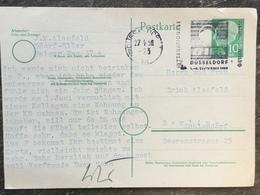K4 BRD Germany Allemagne Ganzsache Stationery Entier Postal P 26 Von Düsseldorf Nach Berlin - BRD