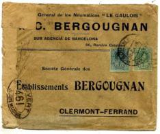 España Nº 268-277 En Sobre - 1889-1931 Kingdom: Alphonse XIII