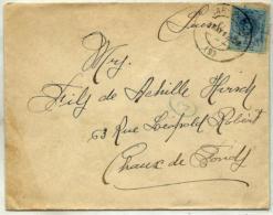 España Nº 274 En Sobre - 1889-1931 Kingdom: Alphonse XIII