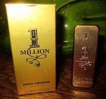 MINIATURE DE PARFUM : MILLION De Paco Rabanne 5 Ml - Miniatures Womens' Fragrances (in Box)