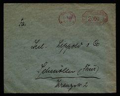A5179) DR Infla Brief Postfreistempel Bremen 15.11.23 - Deutschland