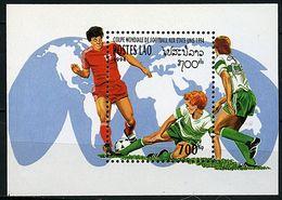 Laos ** Bloc N° 126 - Coupe Du Monde De Foot Aux Etats Unis  - - Laos