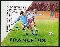 Laos ** Bloc N° 140 - Coupe Du Monde De Foot En France  - - Laos