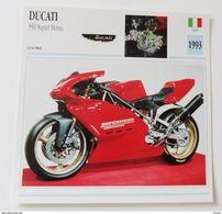 Fiche Technique MOTO Italie 1993 Ducati 550 Super Mono - Motos