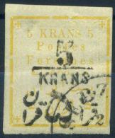 Persia 1902 Mi. 160 Usato 60% Soprastampato Teheran, 5 Kr - Iran