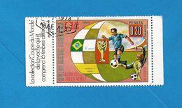LOT  266  TIMBRE GUINEE EQUATORIALE 0.20 AVEC MARGE  LA VACHE QUI RIT - Coppa Del Mondo