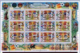 """Lesotho ** N° 480 à 491 En Petite Feuille - """"Espana 82"""" Coupe Du Monde De Foot - - Laos"""
