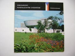Slovakia: Prechadzky Povstaleckymi Chodnikmi, Banska Bystrica, Uprising II. WW - Brochure 1973, 28 Pages, 55 Photos - Magazines & Papers
