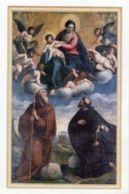 Senigallia - Santino MADONNA CON I SANTI FILIPPO BENIZI E FRANCESCO DI PAOLA  (Giacomo Palma Il Giovane) - PERFETTO N92 - Religione & Esoterismo