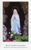 Santuario Di Acquate (Lecco) - Santino BEATA VERGINE DI LOURDES - PERFETTO N92 - Religione & Esoterismo