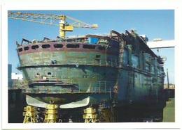44 Saint Nazaire - Construction Du Queen Mary 2 - Saint Nazaire