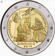 SLOVACCHIA  2 Euro 2007  UNIVERISTA'  FDC - Slovacchia
