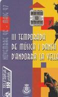 TELECARTE 150 UNITATS...ANDORRE... - Andorra