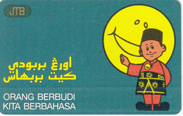 Brunei Phonecard B$10 - Superb Used - Brunei