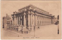 Royal Theatre  - Valletta - Malta (Ed. John Critien - Malta) - Malta