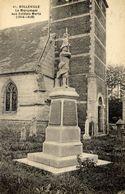 76 BOLLEVILLE (406 Hab.) - Le Monument Aux Soldats Morts (1914-1918) - France
