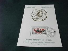 NATALE 1960 CAPODANNO 1961 PIETRO MARTINERO BIELLA - Esposizioni