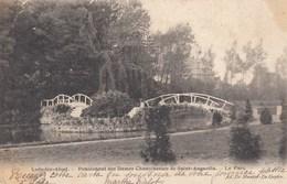 LEDE / LEDE BIJ AALST / PENSIONAAT  SINT AUGUSTINUS / HET PARK  1903 - Aalst